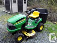 Riding Mower: Model D-125, 20-HP, 42 inch deck, with