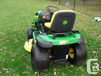For Sale John Deere LA135 with 42in blade and only has