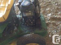 For sale. Rx63 john Deere lawnmower. Nice little riding