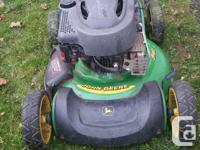 A great high quality lawnmower runs great A total