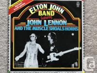 Super Sound Single 12inch-45RMP Elton John Band
