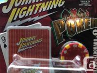 2 Johnny lightning, white lightning diecast mint in