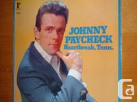 Johnny Paycheck - Heartbreak, Tenn. Vinyl LP. New. In
