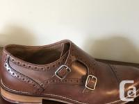 Beautiful brown leather . Size 9 M.....worn only a