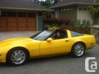 Make Chevrolet Model Corvette Colour yellow Trans