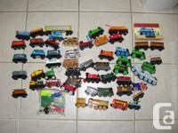 My son is offering his entire collection of Thomas &