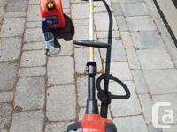 JONSERED GT 2128 WEED EATER. BARELY USED AT ALL. COMES
