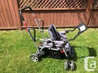 Joovy Caboose Too Ultralight double stroller has been