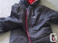 Black & Red Air Jordan fall/winter reversible jacket.