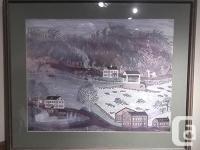 Joseph Pickett Framed Print Campbell's Ferry 1776.