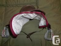 Beautiful horse saddle fit for the journey girl Persion