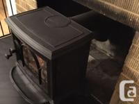 Excellend used condition. Small cast iron stove. Used
