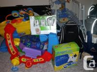 12 items used with only one child all in excellent