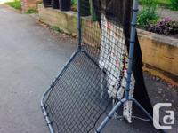 Easton Baseball practice net. This junior rebounder net