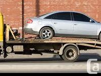 Hello SCRAP VEHICLE OWNERS!!! A-A Scrap Car Disposal is