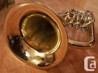 A Jupiter euphonium model 468 in excellent playing