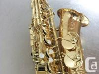 Jupiter Saxophone in great condition with hard case