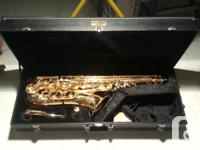 I have for sale a Jupiter Tenor saxophone. I used it