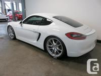 Make Porsche Colour WHITE Trans Manual kms 23730 2014