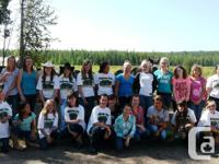 Girls Overnight Summer Horse Riding Camps in Alberta,