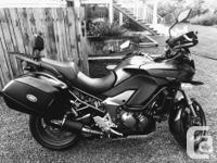Make Kawasaki Model Versys Year 2012 kms 24900 This