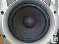 Pair of JVC 3-Way Speakers (Unit #SP-MXJ76). 120 Watts