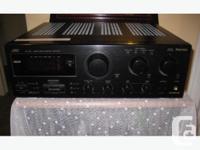 Good quality JVC 5.1 AVR. Offers 100 Watts / channel