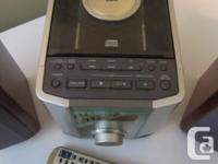 Ultra compact component system , CD Player, AM, FM