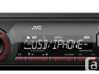 JVC KD-X200 IPOD/IPHONE/ANDROID USB AM/FM Digital Media