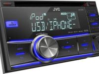 JVC KW-R500 Double DIN iPod/iPhone USB CD Receiver