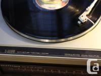 Here is a JVC L-A100 Turntable in good condition. The, used for sale  Ontario