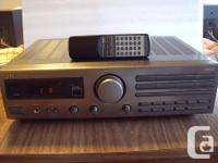 This AM/FM Receiver Amplifier is in great used