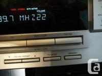 JVC RX-5032v 5.1 100wpc x5 a/v receiver. 500w total!
