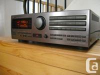 JVC RX-709V Dolby Surround Pro Logic digital receiver