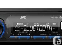 JVC X250BT Smartphone USB AM/FM Digital Media Receiver