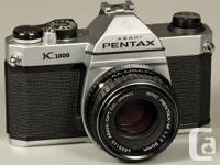 . This excellent 35 mm SLR hand-operated video camera