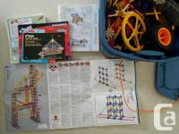 One BIG box of K'Nex! Clean and in good condition: no