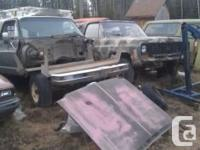 I have a 73 and a 77 Blazer Both are parts trucks only.