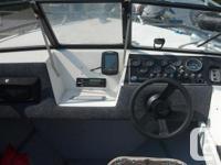 excellent boat, 170hp mercruiser 4 cylinder never lets