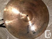 "K Custom 20"" Dry Ride w/ Marco Minnemann's signature on"