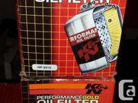 K&N oil and air filters bnib  2 x  oil filters HP2010