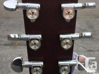 1981 made in Japan, signed by the builder. This guitar