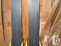 K2 Big Kahuna all mountain skis. Great crudbusters. I