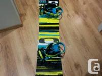 Offering my K2 Playback snowboard with K2 Indy