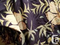 These are top quality shirts by kahala and newt thr
