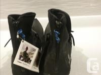 Made by Kahtoola, is their winter snow Flight boot. The