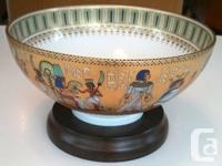 This is a porcelain bowl made by the Kaiser Porcelain