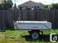 $3500 or best offer 2003 heavy-duty tent trailer Built