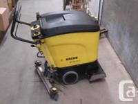 Karcher BR40/25 automated floor scrubber. Roller