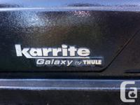 Good condition Thule Galaxy roof top cargo / ski box